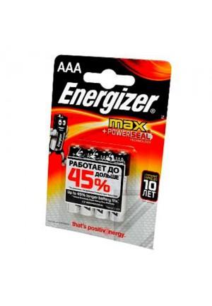 Батарейки AAA Energizer MAX LR03 - 4 шт