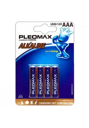 Батарейки AAA Samsung Pleomax LR03 4 шт