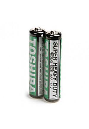 Батарейки AAA TOSHIBA SUPER HD R03 - 2 шт