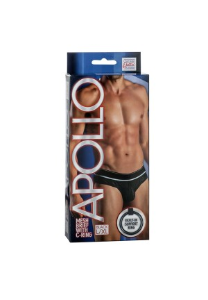 Мужские трусы Apollo Mesh Brief with C-Ring BLU L/XL 4204-15BXSE