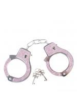 Наручники со стразами PH Razzle Dazzle Diamond Pink PMS0810001