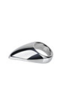 Кольцо с металлическим языком TEADROP размер М