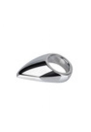 Кольцо с металлическим языком TEADROP размер S