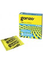 Презервативы GANZO ribs No3