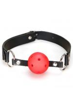 Кляп-шарик на ремне с возможностью дышать