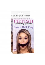 Кляп FF LATEX BALL GAG 213300PD