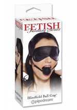 Кляп FF BLINDFOLD BALL GAG 393200PD
