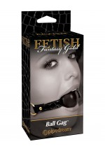 Кляп FF GOLD BALL GAG 397523PD