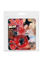 Виброкольцо JELLY BEAR COCKRING 2K552CRDSC