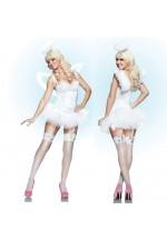 Белоснежный костюм ангела L
