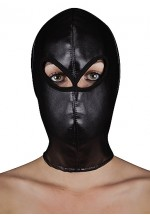 Маска Extreme Leather Hood with Ribon Ties SH-OU177BLK