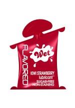 Лубрикант Wet Flavored Kiwi Strawberry подушечка 10mL 23403wet